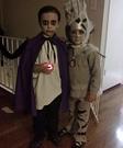 Homemade Spooky Fork costume