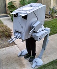 Star Wars AT-ST Walker Homemade Costume