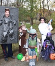 Movie character costume ideas - Star Wars Family Costume