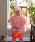 Sweet Cotton Candy Homemade Costume