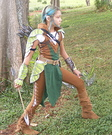 Tauriel the Elf Warrior Homemade Costume