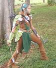 Tauriel the Elf Warrior Homemade Costume