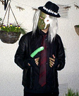 The Mighty Boosh Hitcher Costume
