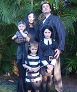 Group movie costumes - The Addams Family Costume
