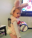 The Energizer Bunny Baby Costume