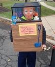 The Fish Tank Boy Costume