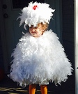 The Grand Champion Chicken Homemade Costume