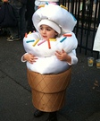 The Ice Cream Cone Costume