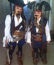 Jack Sparrow homemade costumes