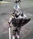 The Knight Homemade Costume
