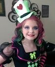 The Lady Mad Hatter Homemade Costume