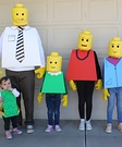The Lego Family Costumes