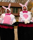 The Magician's Bunnies Couple Costume