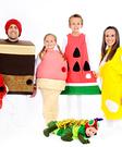The Very Hungry Caterpillar Creative Halloween Costume