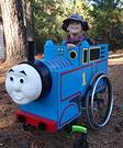 Thomas the Train Wheelchair Costume