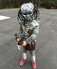 Homemade Predator Costume for Boys