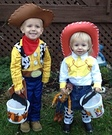Toy Story Woody and Jessie Costumes