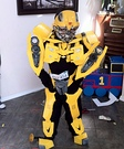 Homemade Transformer Costume for Boys