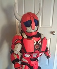 Transformer Cliff Jumper Homemade Costume