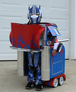 Transforming Optimus Prime Costume DIY