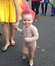 Troll Doll Baby Homemade Costume
