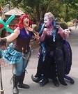 Ursula and Steampunk Ariel Homemade Costumes