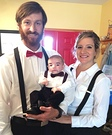 Ventriloquists and Dummy Family Costume