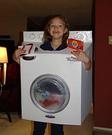 Homemade Washing Machine Costume