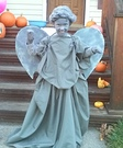 Weeping Angel Girl's Homemade Costume