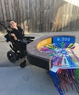 Wheel of Fortune Wheelchair Costume