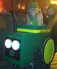 Wheelchair Tractor Costume