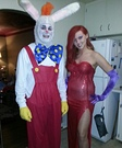 Movie couples costumes - Who Framed Roger Rabbit Couple Costume