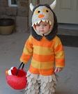 Homemade Wild Thing Baby Costume