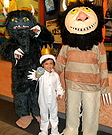 Classic movie costumes - Where the Wild Things Are Family Costume