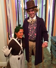 Willy Wonka and Oompa Loompa Couples Costume