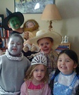 Homemade Wizard of Oz Character Costumes