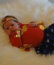 Wonder Woman Baby Costume DIY