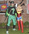 Wonder Woman & The Riddler Couple Costume