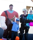 Wreck-It Ralph Family Homemade Costume