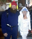 Yukon Cornelius and the Bumble Homemade Costume